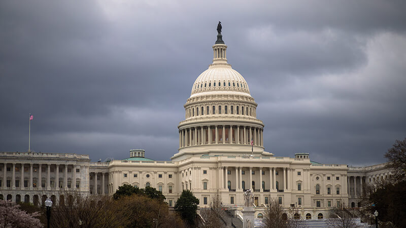The Capital building of the United States of America